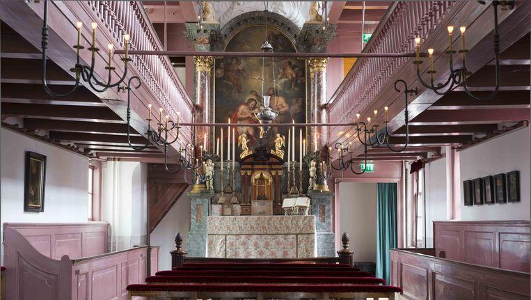 Interieur van het museum Beeld Co de Kruijf