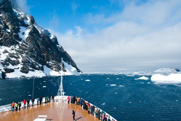 Antarctica verwachtte dit jaar 78.500 toeristen.