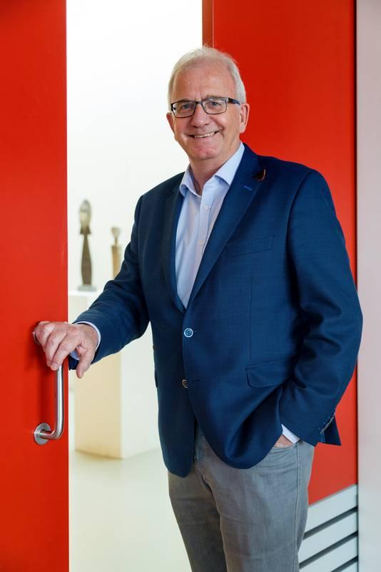 Voorzitter Leo van Rozendaal van 't Spectrum.