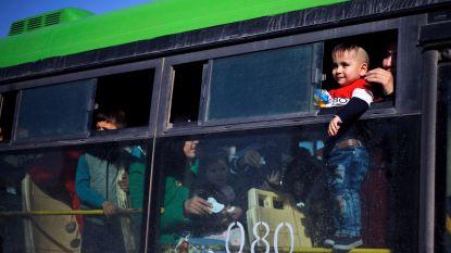 Duizendtal Syrische vluchtelingen keren uit Libanon terug naar huis