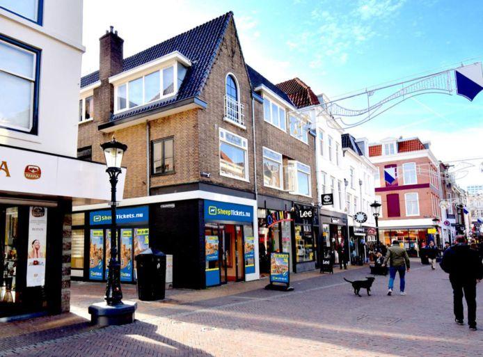 Het pop-upreisbureau aan de Steenweg in Utrecht.