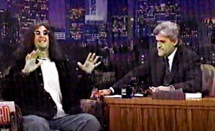 Toen Howard in 1992 te gast was bij Jay Leno ontaarde het gesprek.