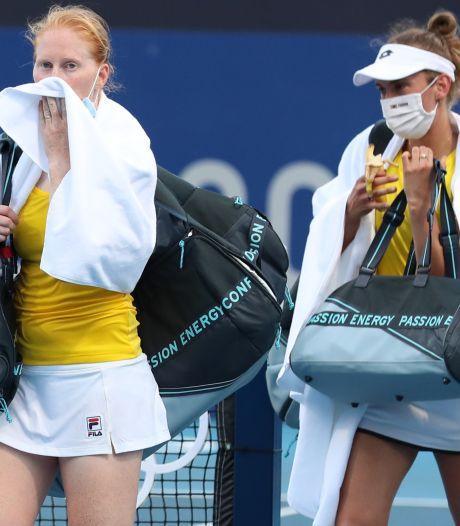 C'est déjà fini pour Elise Mertens et Alison Van Uytvanck, éliminées dès le premier tour en double
