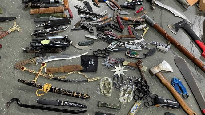 Inzamelactie levert in Zeeland 70 wapens op: van messen, een katapult tot een geweer