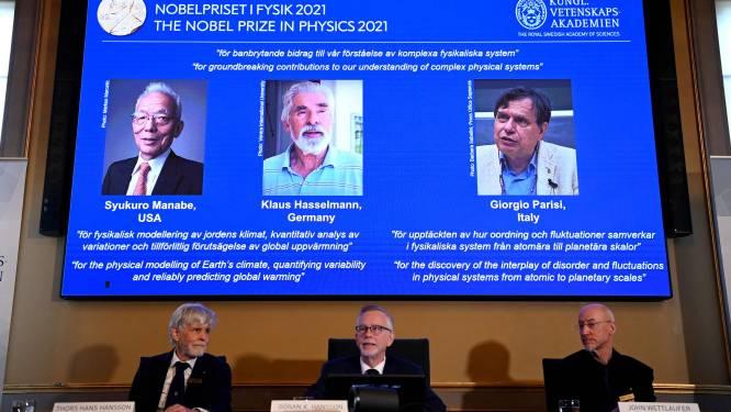 Nobelprijs voor Natuurkunde gaat onder meer naar grondleggers van klimaatonderzoek