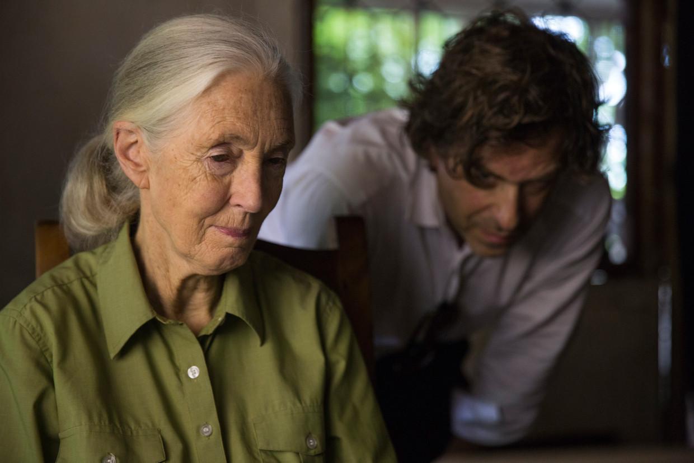 Jane Goodall in Tanzania.  Beeld National Geographic/David Guttenfelder