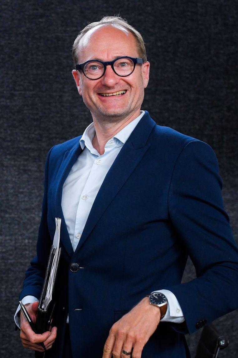 Vlaams minister van Onderwijs Ben Weyts (N-VA) maakte er een persoonlijke kruistocht van om de schoolpoorten weer open te wrikken. Beeld BELGA