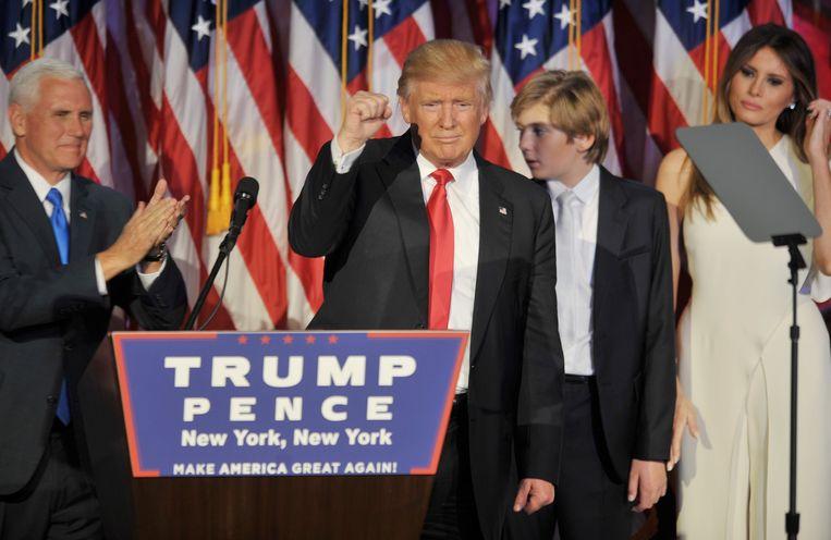 Cambridge Analytica werkte tot het einde mee aan de verkiezingscampagne van de Amerikaanse president Donald Trump.  Beeld Photo News