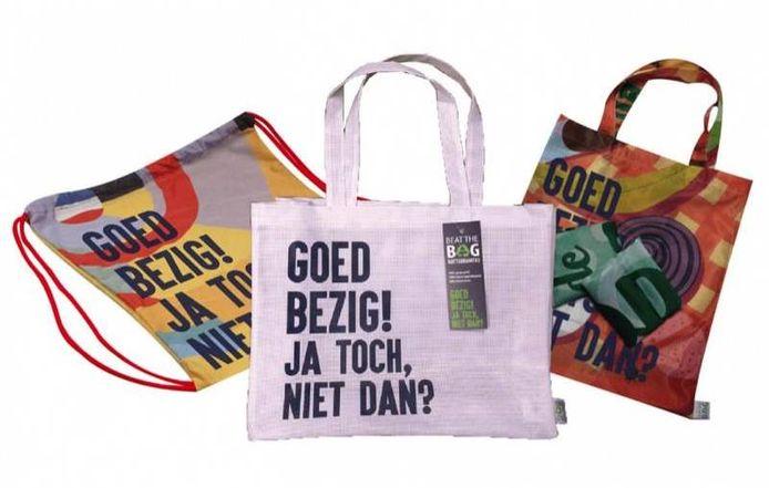 Voorbeeld van enkele tassen.