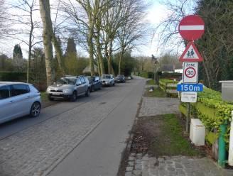 Eenrichtingsverkeer in Burgemeesterstraat