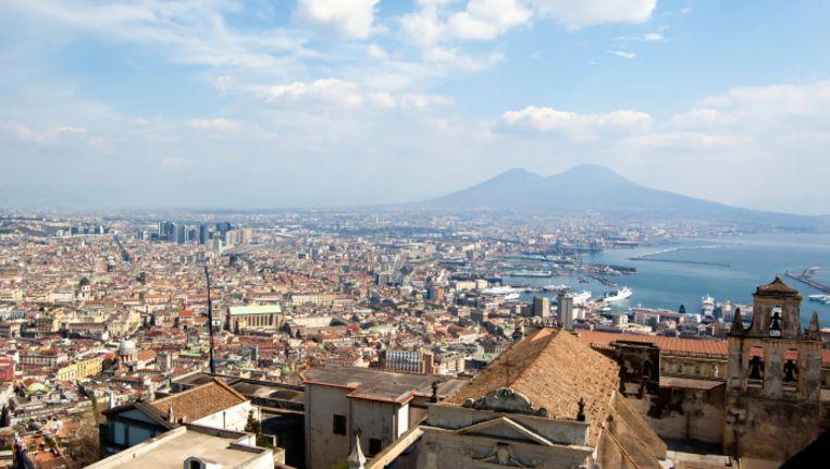 De Vesuvius in Napels. Beeld UNKNOWN