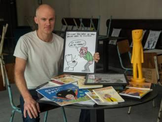 Gentse pompier toont zijn aangebrande cartoons in café Cultuurhuis