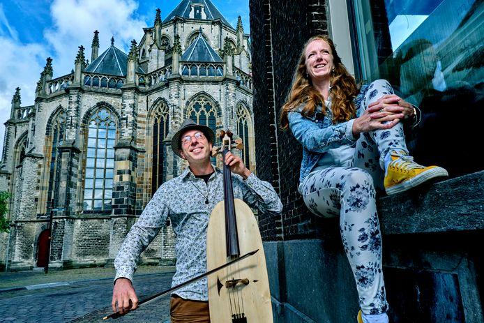 Oene van Geel en Marieke Hopman.