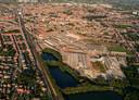 Het bedrijfsterrein van SVK in Sint-Niklaas.