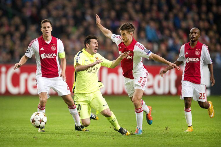 2014: Ajax-FC Barcelona (0-2). Beeld ANP
