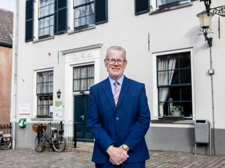 Willie van Gemert, burgemeester van de Benedenstad: 'Als er iets gedaan moest worden, had ik zo 40 man bij elkaar'