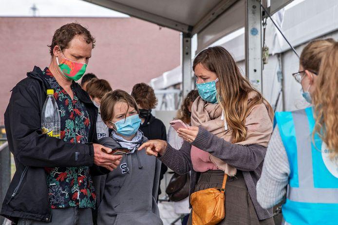 Vaccinatiecentrum Brabanthal (Photo by Xavier Piron / Photo News)