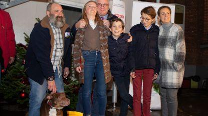 Ook kinderen van Laurent houden van honden
