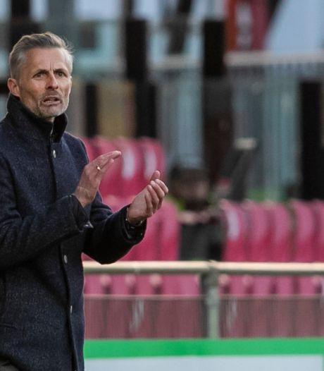 Zo maakt GA Eagles-trainer Kees van Wonderen zich klaar voor wedstrijd van het jaar: 'Promotie zou geweldig zijn'
