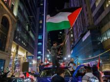 Échauffourées lors d'une manifestation pro-Israel à Montréal