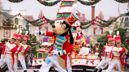 Disneyland Parijs viert een betoverende kerst