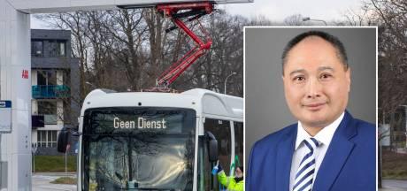 Directeur Chinese pechbussen doorbreekt stilte: 'Mijn excuses aan alle reizigers en chauffeurs van Keolis'