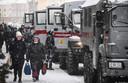 Ordediensten zijn massaal aanwezig in de straten van verschillende Russische steden om protesten van Navalny-aanhangers te vermijden.