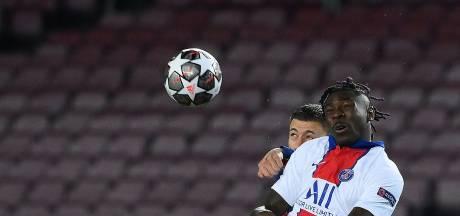 PSG wellicht zonder Kean tegen Barcelona