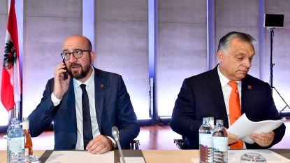 """Michel scherp voor Salvini en Orban: """"Hun partnerschap is schizofreen en hypocriet"""""""