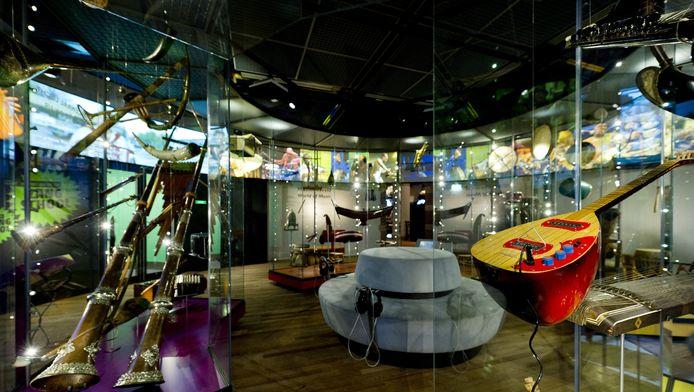 Interieur van het Tropenmuseum in Amsterdam.