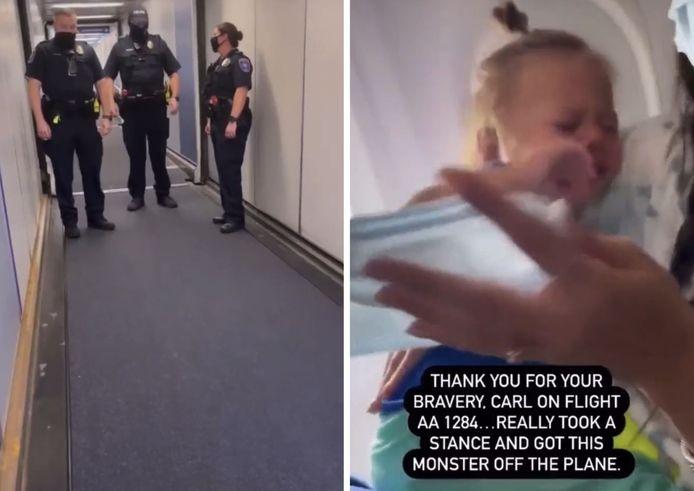 Un enfant asthmatique de 2 ans expulsé d'un vol American Airlines pour ne pas avoir porté de masque.