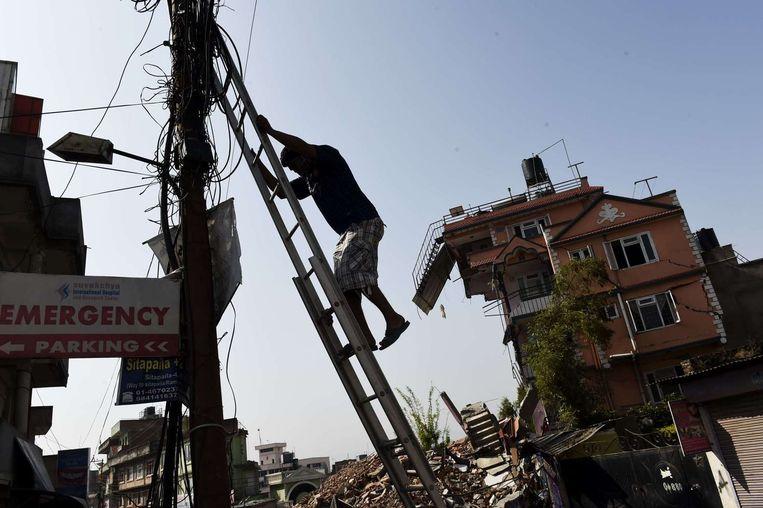 Kathmandu. Beeld afp