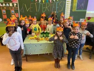Letterfeest bij eersteklassers basisschool Bevegem