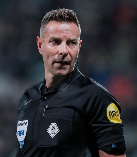 Pol van Boekel fluit PSV - sc Heerenveen