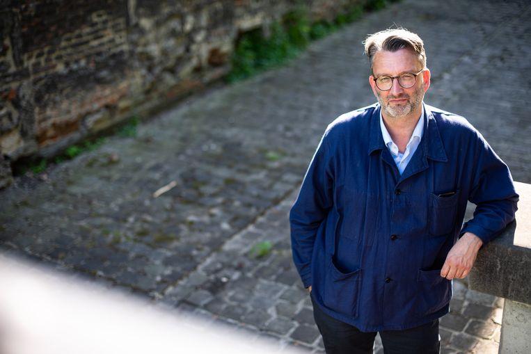 Professor kunst- en filmgeschiedenis Steven Jacobs. Beeld Wouter Maeckelberghe
