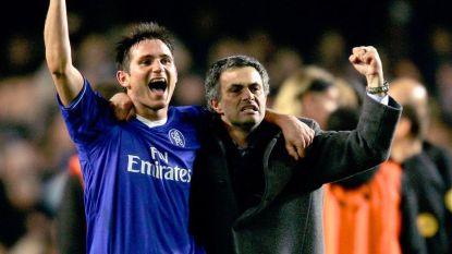 """Ze schreven succesverhalen, maar vanavond staan Mourinho en Lampard tegenover elkaar: """"Als coach ben ik nog een baby"""""""