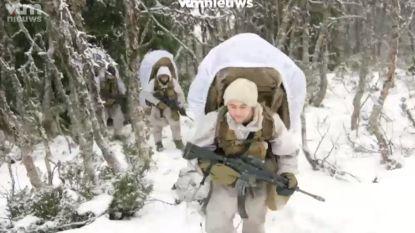 Tot wel 40 graden onder het vriespunt: bibberen geblazen tijdens grootste NAVO-oefening sinds de Koude Oorlog