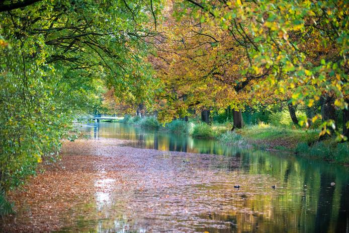 Een prachtige herfstdag, ook langs het Apeldoorns kanaal