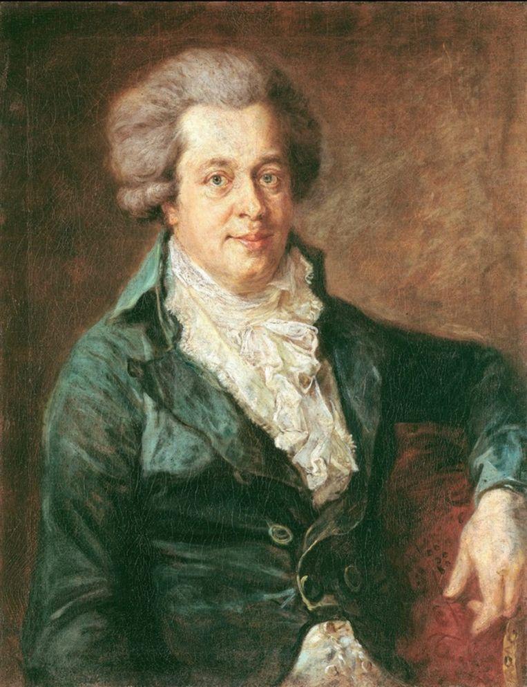 Een portret van Mozart. Foto ANP Beeld