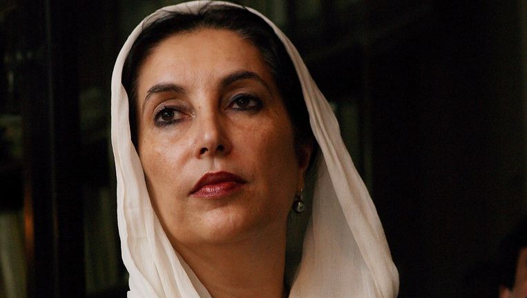 Benazir Bhutto. Beeld EPA