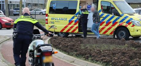 Motorrijder gewond door valpartij in Ede