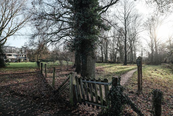 De entree van het Bonanzapark op Overstegen.