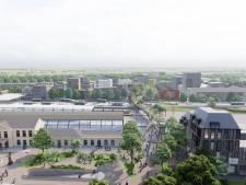 Nieuwe loopbrug over spoor in Zwolle, maar zonder trapjes naar perrons: 'Gemiste kans'