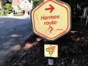 In Louise-Marie lopen de Hermesroute en Mountainbikeroute Ronse even samen.