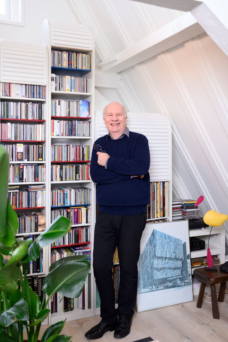Jan Brokken: 'Metaforen zijn levensgevaarlijk.' Beeld Els Zweerink