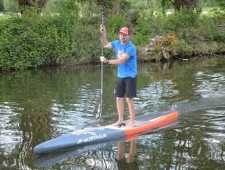 Dirk neemt deel aan Sup Elfstedentocht: 220 kilometer peddelen op vijf dagen