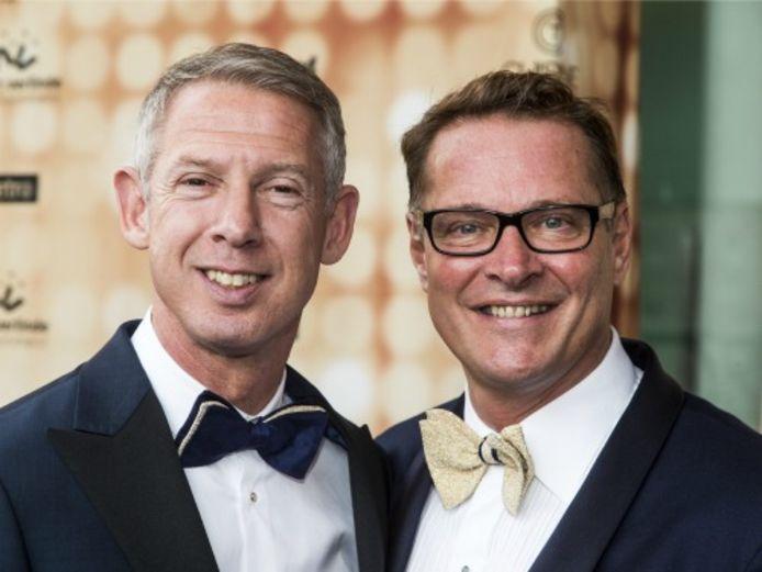Albert Verlinde en Onno Hoes.