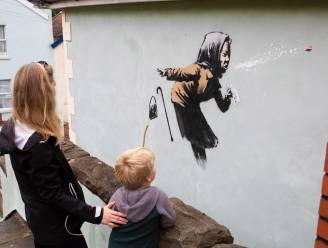 Nieuwe muurschildering van Banksy opgedoken in Bristol