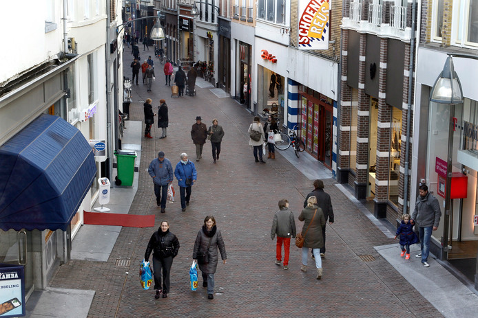 De Lange Bisschopsstraat in Deventer.