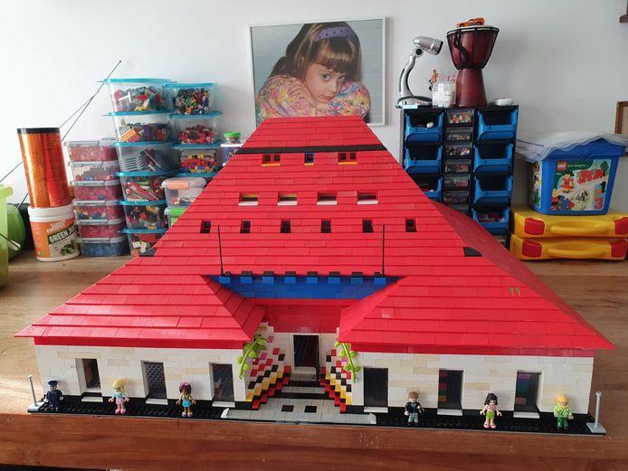 Het Lego-paleis van Jacques Beemsterboer.